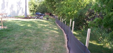 One of the leading manufacturer and supplier of silt fence in China